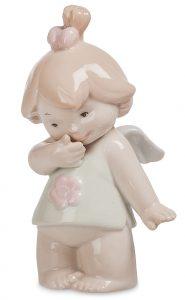 Девочка ангелочек. Фарфор.