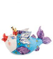 Заварочный чайник «Рыба Королева»-ручная роспись