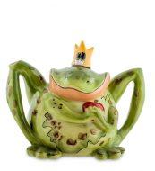 Заварочный чайник Лягушка Царевна-ручная роспись