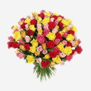 Букет кенийских роз-Акция от 40 руб.