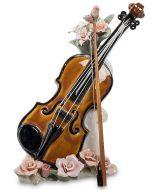 Скрипка музыкальная. Фарфор.