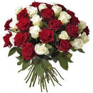 Букет микс элитные розы