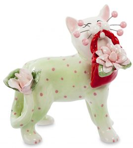 Кот гламур-фарфор. Италия.