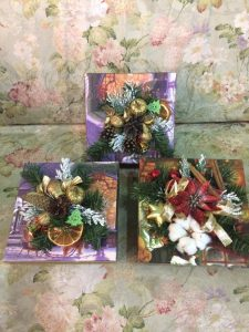 Коробка с Новогодним оформлением