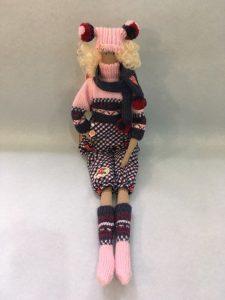 Кукла Тильда Матильда.