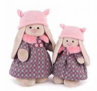 «Зайка Ми» В пальто и розовой шапке