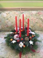 Рождественская Звезда-венок.